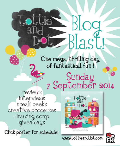 tottie and dot blog blast flyer