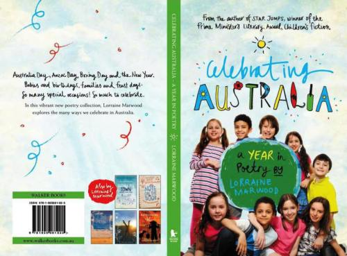 Celebrating Australia -- the cover (front and back!)