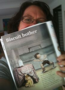 Biscuit bother (poem by me, illustrations by Kimberly Andrews)