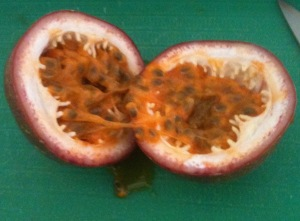 Passionfruit photo.
