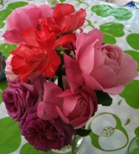Roses from my garden.
