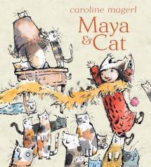 Maya and Cat by Caroline Magerl